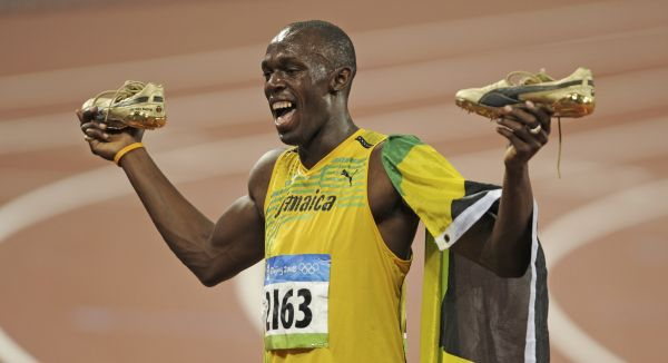 Sets new olympic record for men s 100 meters the public news hub