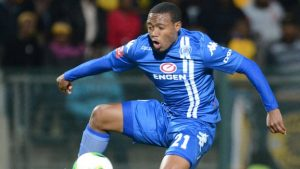 SuperSport United captain Thuso Phala opened the scoring in his side's 1-1 draw with Ajax Cape Town.                               Picture Credit : BBC