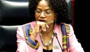 Baleka Mbete likely to face a hard day in Parliament. Image: Daily Maverick