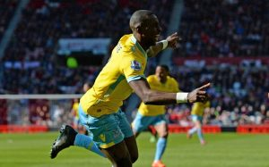 Yannick Bolasie impressed during Crystal Palace's 3-1 win over Liverpool.                        Picture Credit : Telegraph UK
