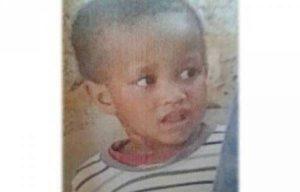 Three-year-old Curbune van Wyk Pic: bruinou.com