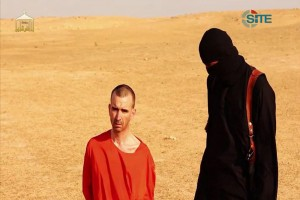 David Haines Just Before He Was Beheaded. Image: NBC News.