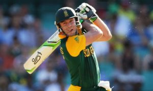 In devastating form, Devilliers smashed the West Indies attack scoring the fastest 150 in World Cup history.  Image: India.com