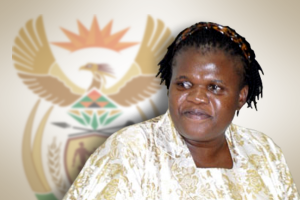 Ms. Faith Muthambi - The new minister of communications Photo: MyBroadband