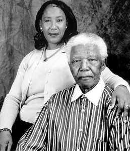 Former President Nelson Mandela is seen here with his eldest daughter, Makaziwe. – image - beeafrican.com