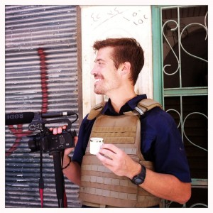 James Foley the American freelance who was 'beheaded' by the Islamic State group Photo: boston.com