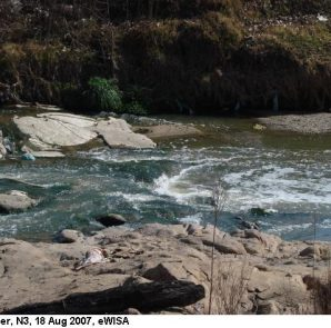 The Juskei River in which the body of a child has been found.  Image by e Wisa