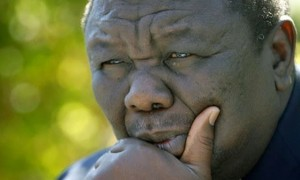Zimbabwe's MDC-T Leader Morgan Tsvangirai - Are these signs of the times to ponder the future? Photo: Heitor-omximo