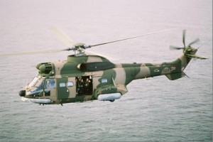 The president's preferred mode of transportation, the Oryx helicopter. – image - www.navy.mil.za