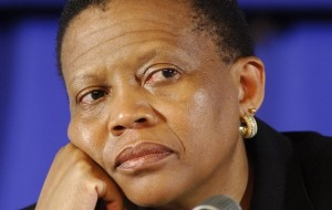 Pansy Tlakula, IEC Chairwoman- Time to ponder about the future? Photo: Times Live.