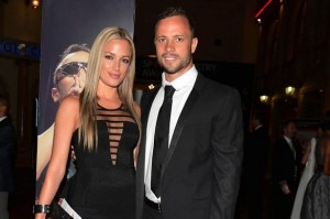 Reeva Steenkamp and Oscar Pistorius pictured attending a sport awards event. It is rumoured that they had met for the first time earlier that night. – image – www.mirror.uk
