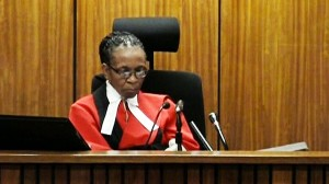 Judge Thokozile Masipa. Photo: The New Daily.