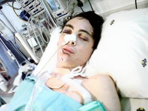 This is a photo taken shortly after the accident which left Thomas Ferreira with a severe head injury. – image - www.iol.co.za