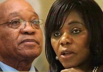 Thuli Madonsela and Jacob Zuma - Battle lines Drawn?Photo: SABC