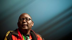 Zwelinzima Vavi. Down and Out? Image: Mail and Guardian