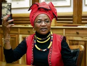 National Assembly speaker Baleka Mbetha Image:news24
