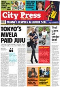 The Rapport and it sister publication, City Press (pictured), have been ordered to apologize to Oscar Pistorius for running a story that was not completely factual. – image - apple.copydesk.org