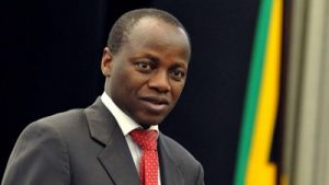 Public Service minister Collins Chabane, who died in a road accident on the N1 on Sunday. Image: SABC