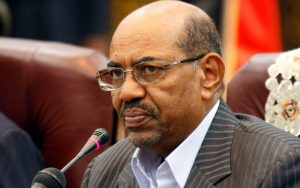 President Omar Al-Bashir of Sudan who may be arrested by South Africa and handed over to the International Criminal Court.  Image: Aljazera