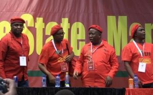 Julius Malema and those around him accused of undermining Party constitution and will be removed from office.  Image: EWN