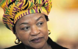 Speaker of the House, Baleka Mbete. Did she overstep when she called in security forces to escort EFF out of Parliament? Image: TimesLive
