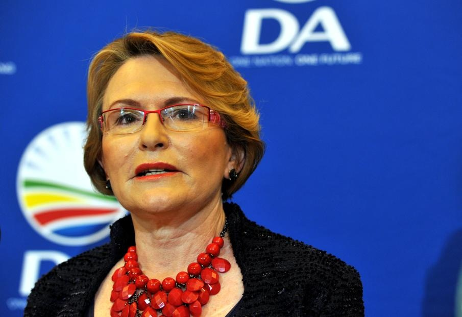 Helen Zille officially suspended by DA