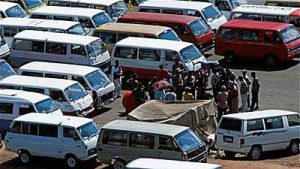 Taxi owners and drivers went on strike in Durban on Tuesday. Image: SABC