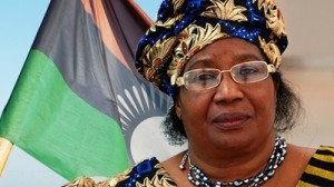 Incumbent President of Malawi who has ordered a recount after the election, Joyce Banda. Photo: SABC