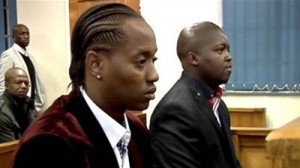 Jub Jub in court back in 2012. His conviction and sentence have been overturned.  Image: SABC.