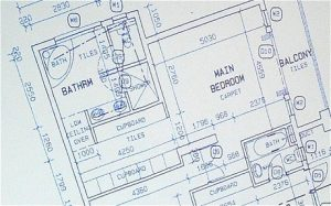 This is the layout of the Oscar Pistorius home showing the bathroom in which Reeva Steenkamp was shot and killed. – image - www.telegraph.co.uk