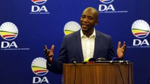The DA leader is determined to sort out the country's greatest challenges Image:Youth-village