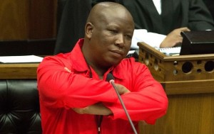 EFF president Julius Malema is taking Modise to court over parliamentary ejection. Photo: BDLive.