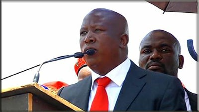 Malema not pulling any legal punches. Image: SABC.