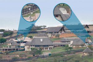 Controversial Zuma's Nkandla homestead.  Image: My Broadband.