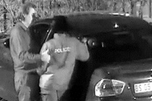 A controversial video has surfaced showing two police officers receiving what appears to be money before and after a strange sexual act in a parking lot of a shopping centre in Boksburg. – image- news.iafrica.com