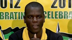 Ronald Lamola has been caught in a real-life game of musical chairs as the ANCYL is disbanded and his role as acting president is now vacant. – image – www.sabc.co.za