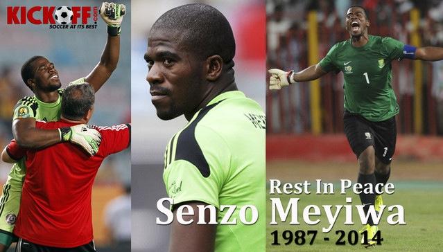 Senzo meyiwa: celebrating the life of a hero. image: kick off magazine
