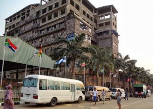 SCOAN Residence Before it Collapsed on 12 February, 2014. Image: Pilgrims to Lagos, Blogspot.
