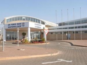 This is the entrance to the Waterkloof Air Force Base, where 'Guptagate' unfolded. – image – www.iol.co.za