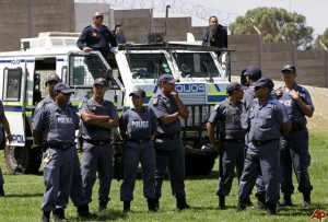 A man has died at the hands of members of South African Police Services. -image - www.nairaland.com