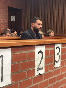 Christopher Panayiotou in court Pic: BizNews