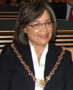 """Cape Town Mayor Patricia de Lille has called the ANCYL """"a lot of thugs"""" after her speech was disrupted on Tuesday night and faecal matter was thrown at a bus carrying DA President Helen Zille. – image - www.proudlysa.biz"""