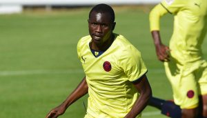 Charlton Mashumba starred in Jomo Cosmos 4-1 win over Moroka Swallows in the PSL play-offs.                                 Picture Credit : Chris Ricco/BackpagePix