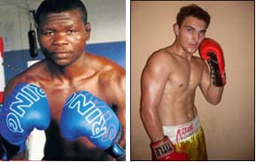 Christopher Buthelezi and Giovani Bushby will fight for National Middleweight title