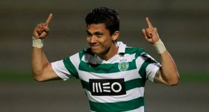 Fredy Montero scored two goals in Sporting Lisbon's 2-0 win over Crystal Palace in the Cape Town Cup final.                                 Picture Credit : MLS Soccer