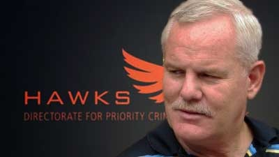 Johan Booysens of the Hawks in KZN. Image: SABC.