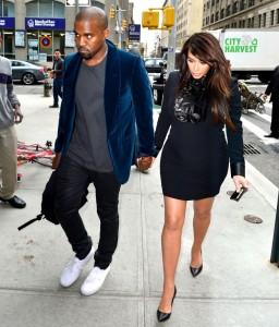 Kanye West and Kim Kardashian recently had baby North. – image source - www.usmagazine.com