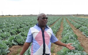 Malema on his farm in January 2013. Photo: Times Live/ Lucky Nxumalo / Gallo Images