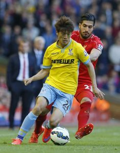 Lee Chung-Yong was named as the man of the match in Crystal Palace 4-0 win over SuperSport United.                            Picture Credit : Yahoo