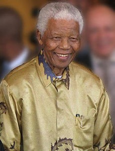 "According to one of his bodyguards; former president Nelson""Mandela is a very lonely man."" – image - en.wikipedia.org"